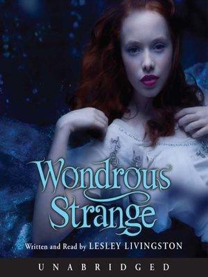 cover image of Wondrous Strange