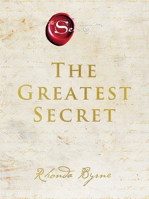 cover image of The Greatest Secret