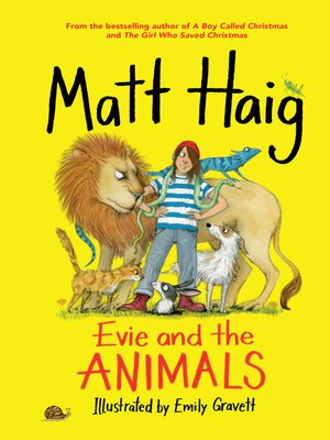 cover image of Evie and the Animals