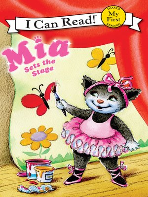 cover image of Mia Sets the Stage