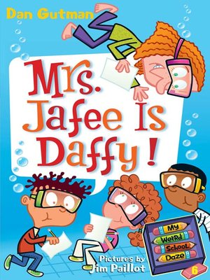 cover image of Mrs. Jafee Is Daffy!