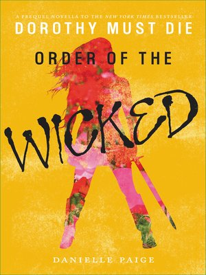 cover image of Order of the Wicked