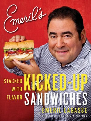 cover image of Emeril's Kicked-Up Sandwiches