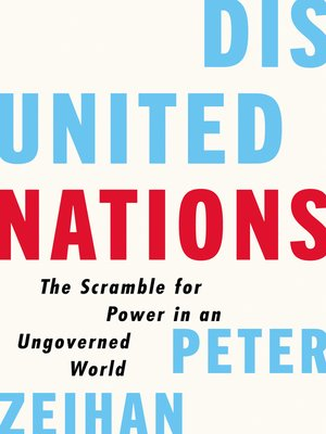 cover image of Disunited Nations