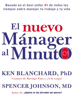cover image of nuevo mAnager al minuto (One Minute Manager--Spanish Edition)