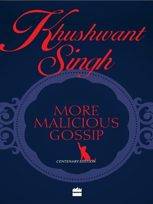 cover image of More Malicious Gossip