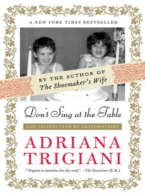 cover image of Don't Sing at the Table