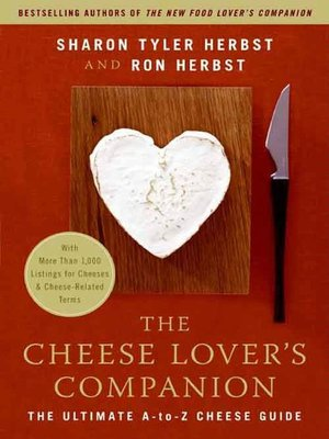 cover image of The Cheese Lover's Companion