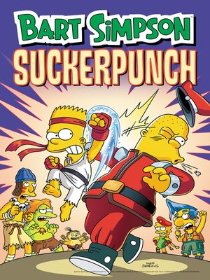 cover image of Bart Simpson Suckerpunch