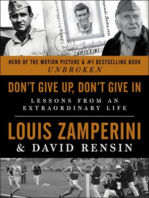 cover image of Don't Give Up, Don't Give In
