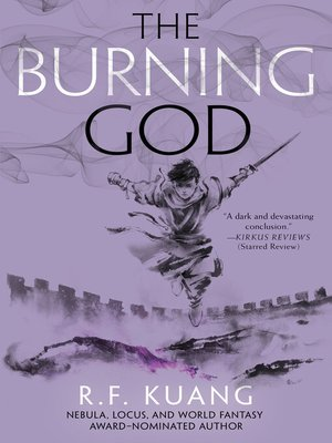 cover image of The Burning God