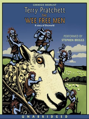 cover image of The Wee Free Men