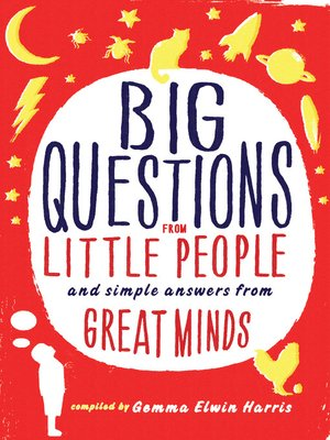 cover image of Big Questions from Little People