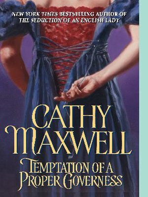 cover image of Temptation of a Proper Governess