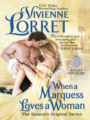 cover image of When a Marquess Loves a Woman