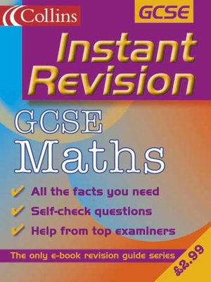 cover image of Instant Revision: GCSE Mathematics