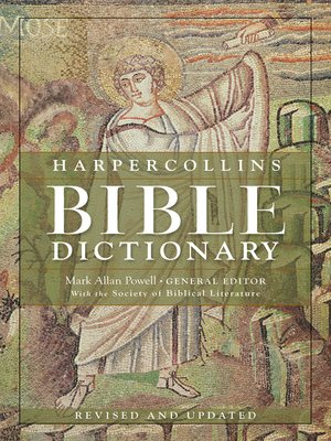 cover image of HarperCollins Bible Dictionary