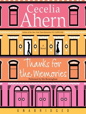 Thanks For The Memories Cecelia Ahern Pdf