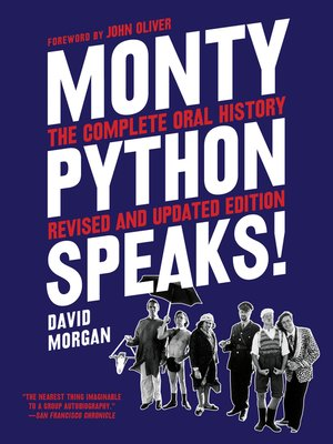 cover image of Monty Python Speaks, Revised and Updated Edition