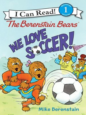 cover image of We Love Soccer!