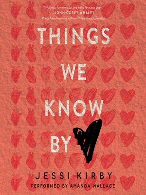 cover image of Things We Know by Heart