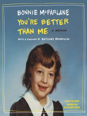 cover image of You're Better Than Me