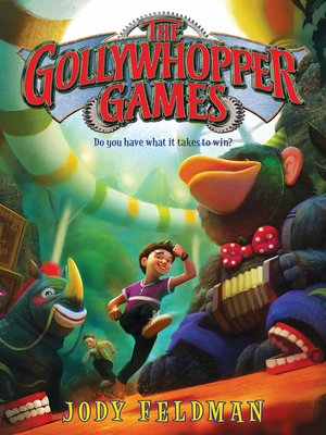 cover image of The Gollywhopper Games