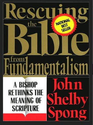 cover image of Rescuing the Bible from Fundamentalism