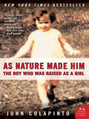 cover image of As Nature Made Him