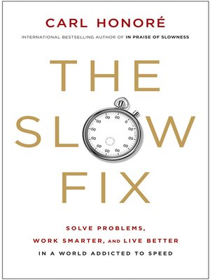 cover image of The Slow Fix