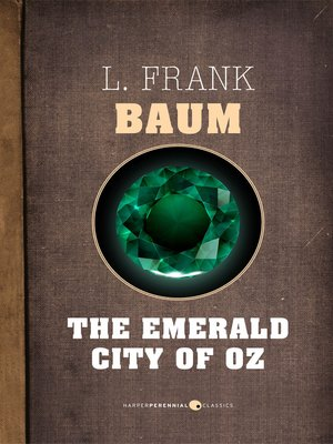 cover image of The Emerald City of Oz