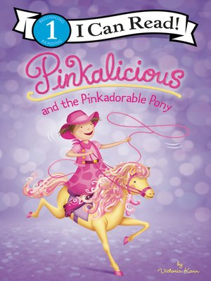 cover image of Pinkalicious and the Pinkadorable Pony