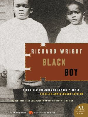 cover image of Black Boy