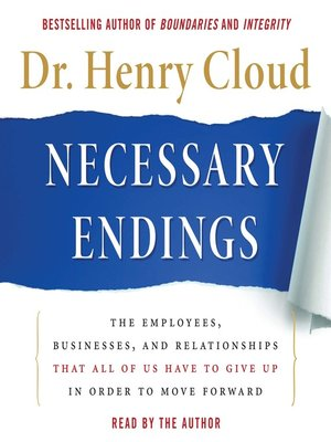cover image of Necessary Endings