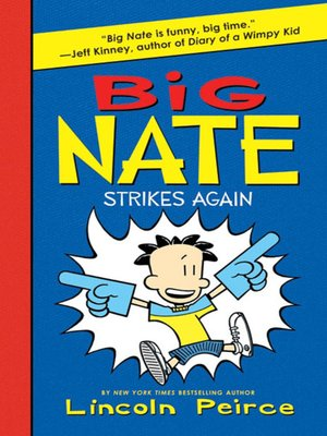cover image of Big Nate Strikes Again