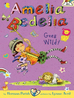 cover image of Amelia Bedelia Goes Wild!