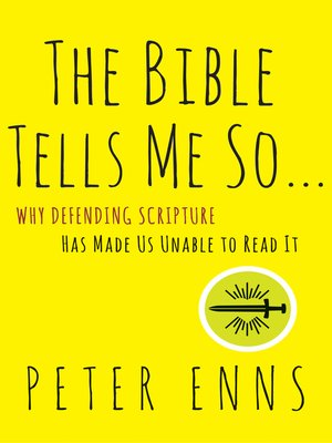 cover image of The Bible Tells Me So