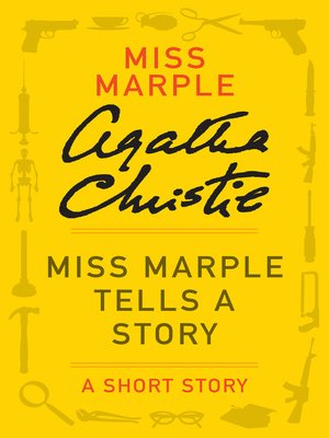 cover image of Miss Marple Tells a Story