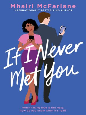 If I Never Met You Book Cover