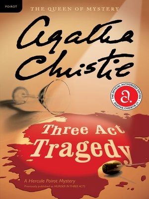 cover image of Three Act Tragedy
