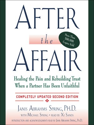 cover image of After the Affair, Updated Second Edition