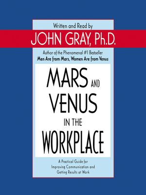 cover image of Mars and Venus in the Workplace
