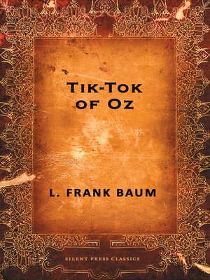 cover image of Tik-Tok of Oz