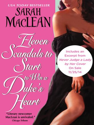 cover image of Eleven Scandals to Start to Win a Duke's Heart