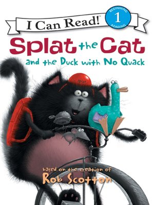 cover image of Splat the Cat and the Duck with No Quack