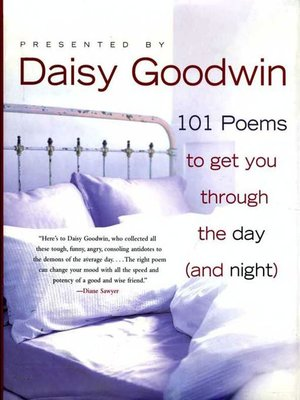 cover image of 101 Poems to Get You Through the Day (and Night)
