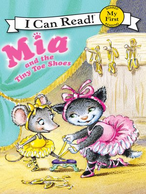 cover image of Mia and the Tiny Toe Shoes