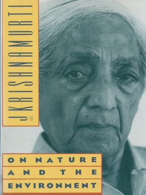 cover image of On Nature and the Environment