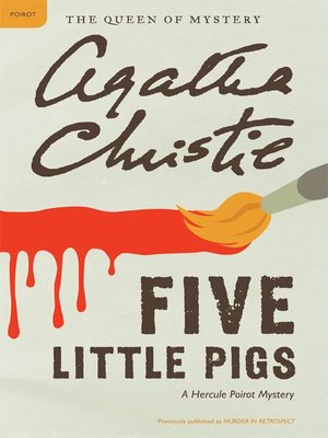 cover image of Five Little Pigs