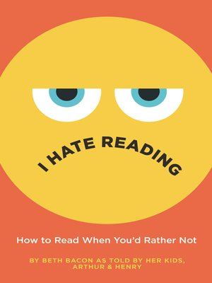 cover image of I Hate Reading